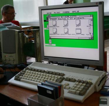 Programy Atari ST na Amidze
