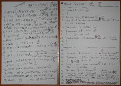 Przykładowe odpowiedzi uczestników konkursu muzycznego