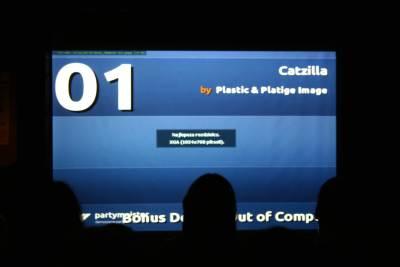 Catzilla (screen informacyjny)
