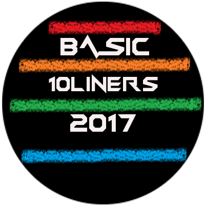 [Atari] AtariOnLine:10 linijek kodu – konkurs BASIC Tenliners 2017